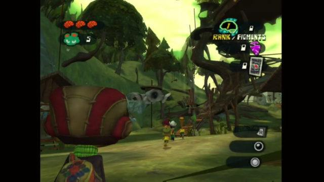 Psychonauts on the Xbox