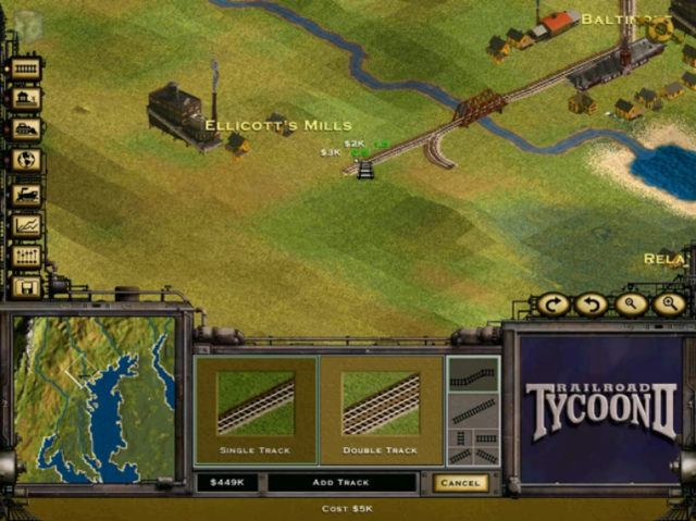 Railroad Tycoon 2 Windows version