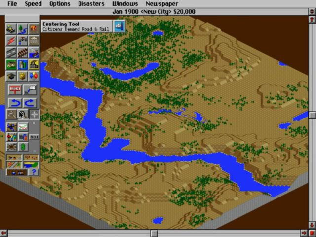 SimCity 2000 Dos version