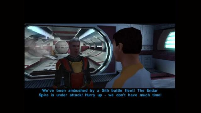 Star Wars: Knights Of The Old Republic on the Xbox