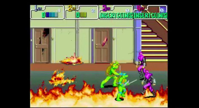 Teenage Mutant Ninja Turtles arcade version