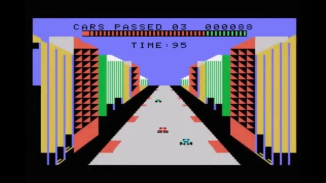 Turbo on the ColecoVision