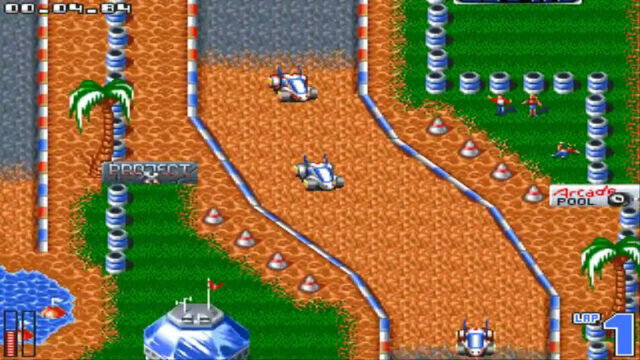 All Terrain Racing on the Amiga