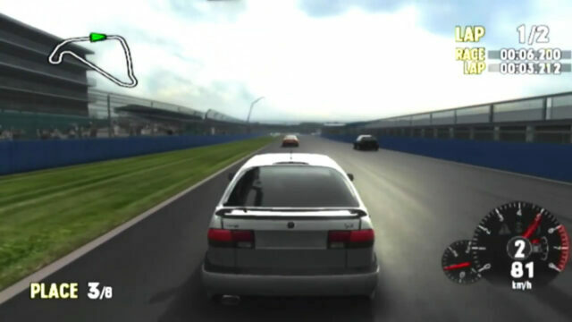 Forza Motorsport on the Xbox
