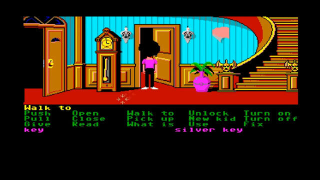 Maniac Mansion on the Amiga