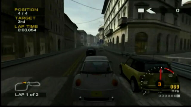 Project Gotham Racing 2 on the Xbox