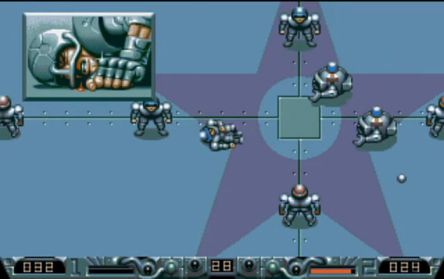 Speedball 2: Brutal Deluxe on the Amiga