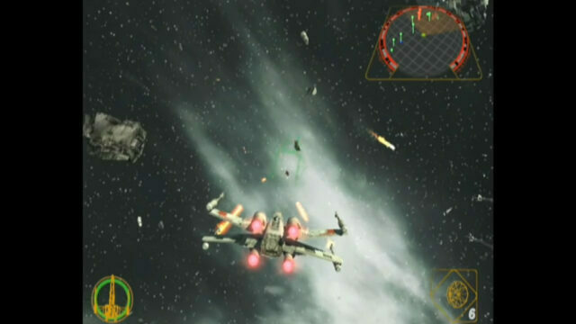 Star Wars Rogue Squadron II: Rogue Leader on the Nintendo GameCube
