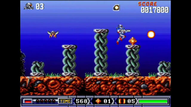 Turrican 2: The Final Fight on the Amiga