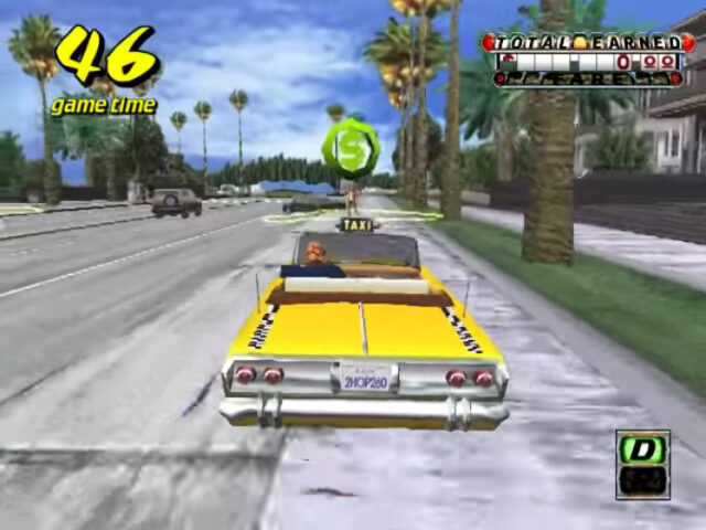 Crazy Taxi arcade version