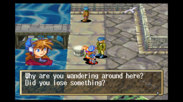Grandia on the Sega Saturn