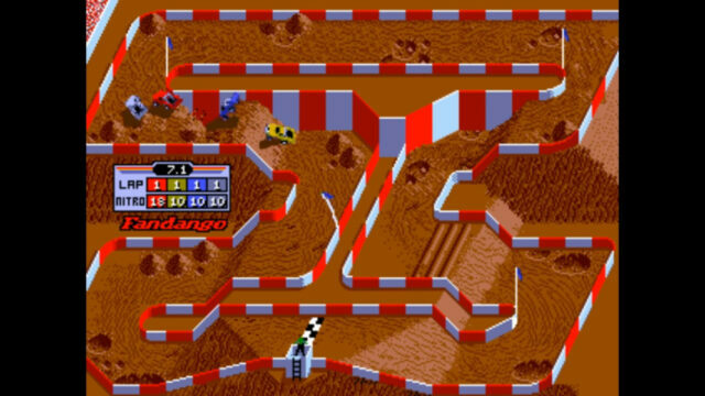 "Ivan ""Ironman"" Stewart's Super Off Road arcade version"
