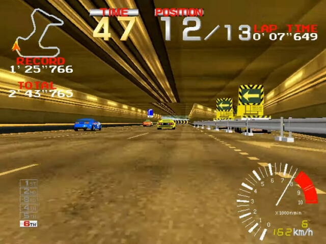 Ridge Racer arcade version