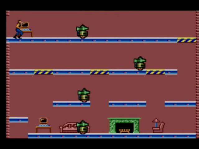 Impossible Mission on the Sega Master System