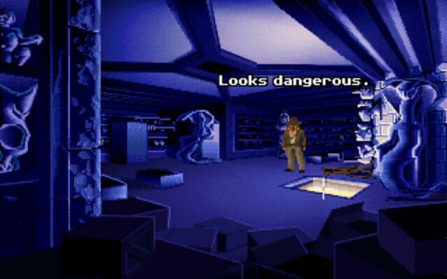 Indiana Jones and The Fate of Atlantis on the Amiga