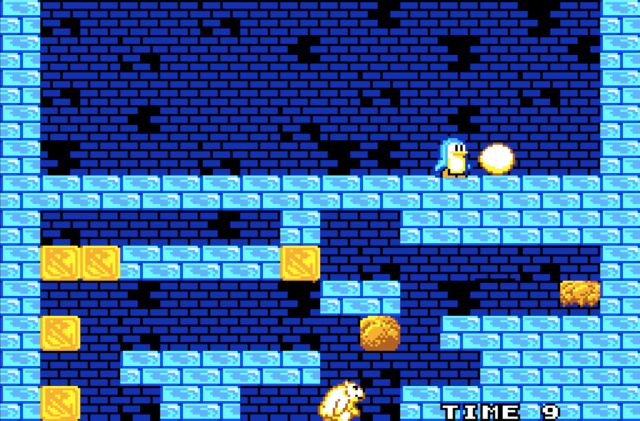 Penguin Land on the Sega Master System