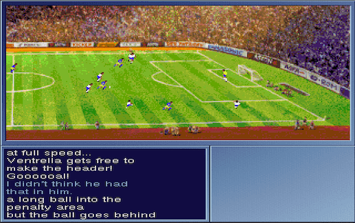 On the Ball: World Cup Edition on the Amiga