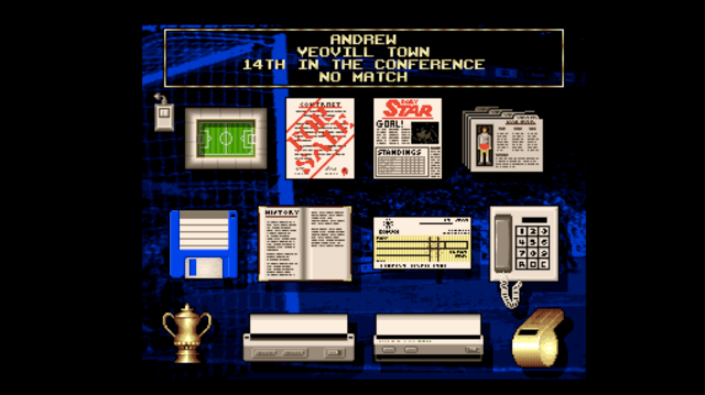 Premier Manager on the Amiga