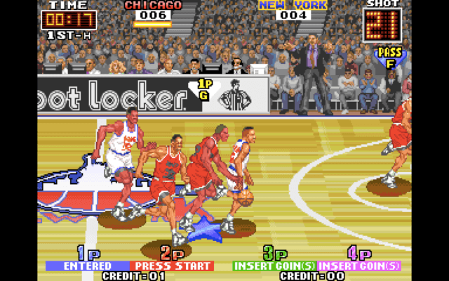 3 on 3 Dunk Madness for the arcade