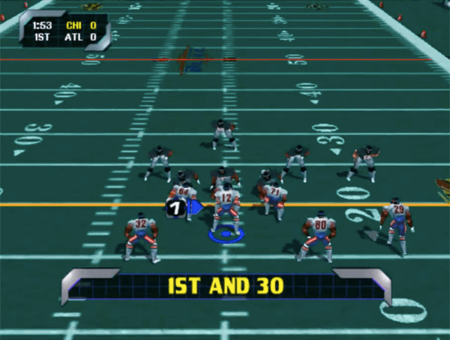 NFL Blitz 99 for the arcade