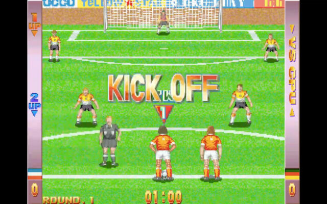 Soccer Superstars for the arcade