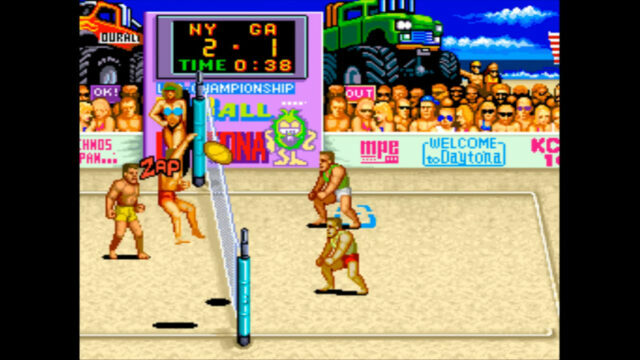 U.S Championship V'Ball arcade version
