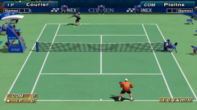 Virtua Tennis arcade version