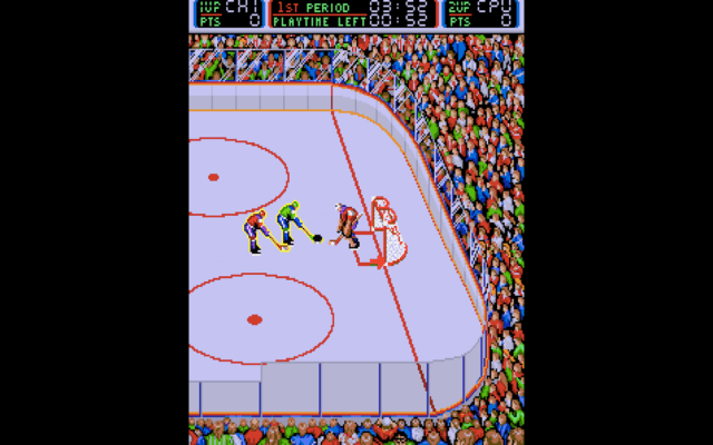 Blades of Steel arcade version
