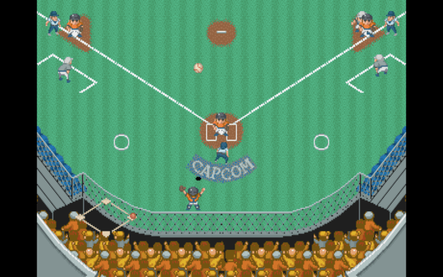 Capcom Baseball for the arcade