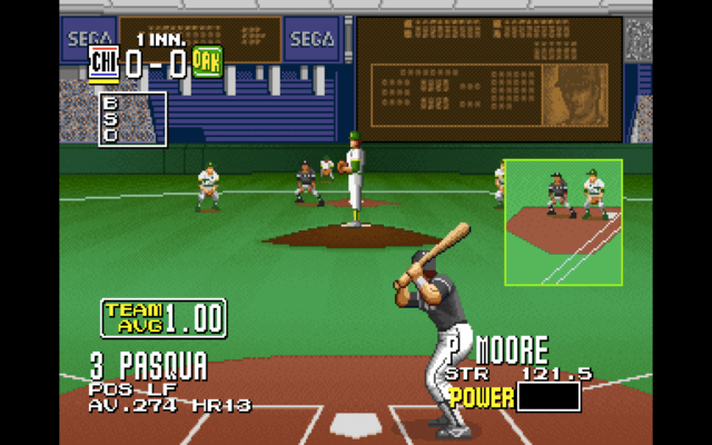 Clutch Hitter for the arcade