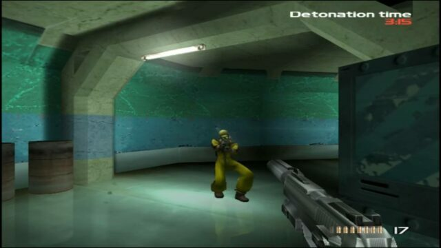 TimeSplitters on the PlayStation