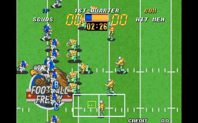 Football Frenzy arcade version