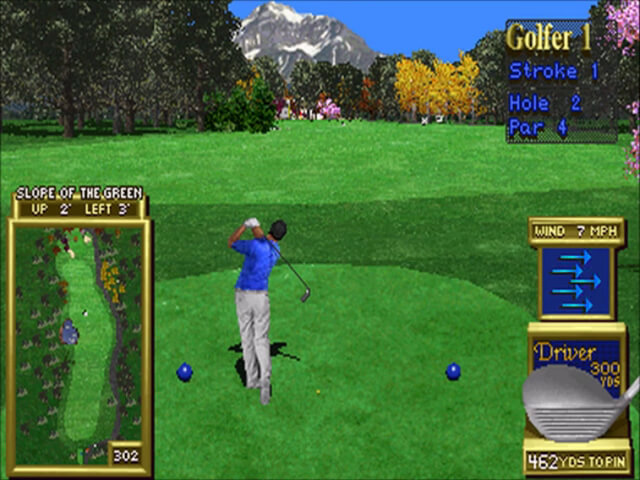 Peter Jacobsen's Golden Tee 3D Golf for the arcade