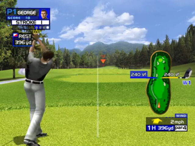 Virtua Golf for the arcade