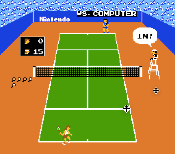 Vs. Tennis for the arcade