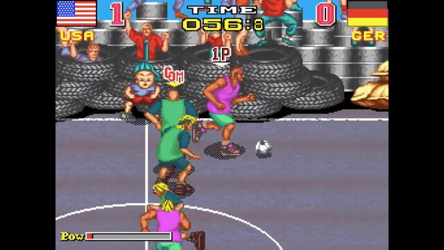 Back Street Soccer for the arcade