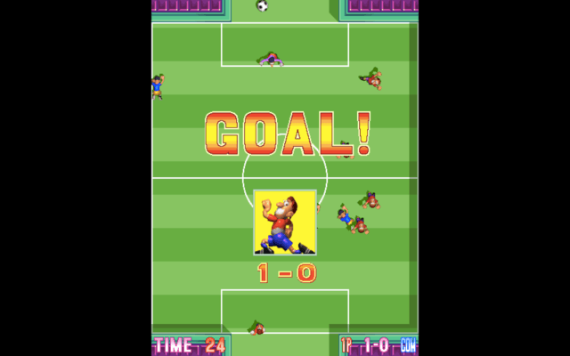 Five a Side Soccer for the arcade