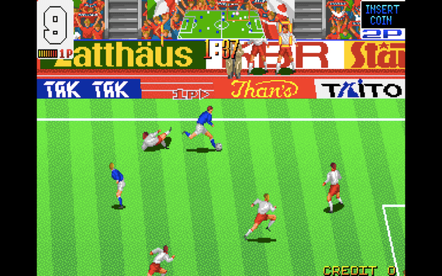 Football Champ arcade version