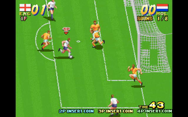Seibu Cup Soccer for the arcade