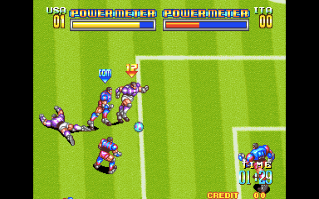 Soccer Brawl for the arcade
