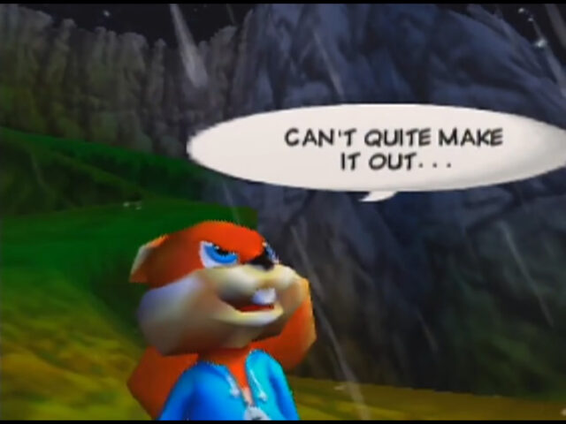 Conker's Bad Fur Day on the Nintendo 64