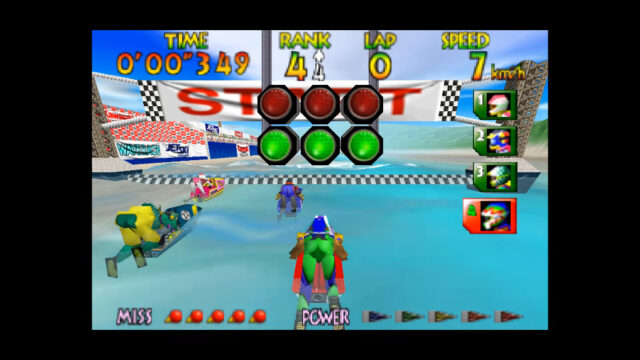 Wave Race for the Nintendo 64