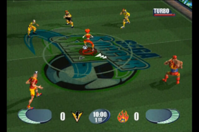Sega Soccer Slam for the PlayStation 2