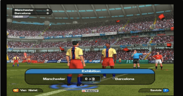 World Soccer Tour 2 for the PlayStation 2