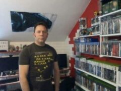 Mark in his Gaming Crazy room