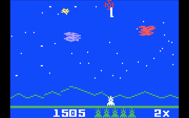 Astrosmash for the Intellivision